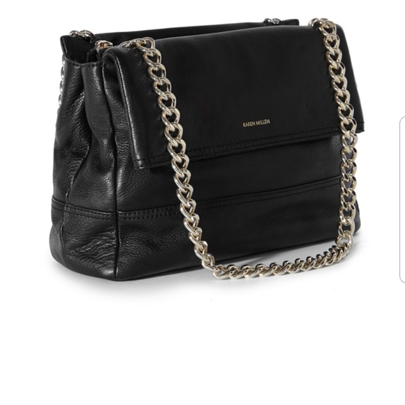 d5867bc24e05 Karen Millen Bags   Santa Monica Leather Chain Bag   Poshmark
